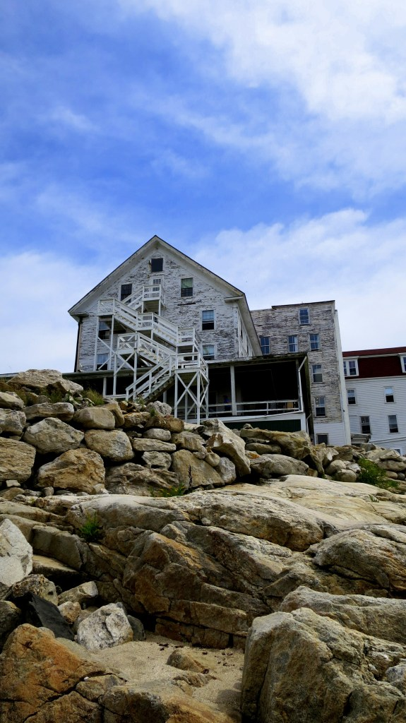 Side of hotel, Star Island, Isle of Shoals, New Hampshire
