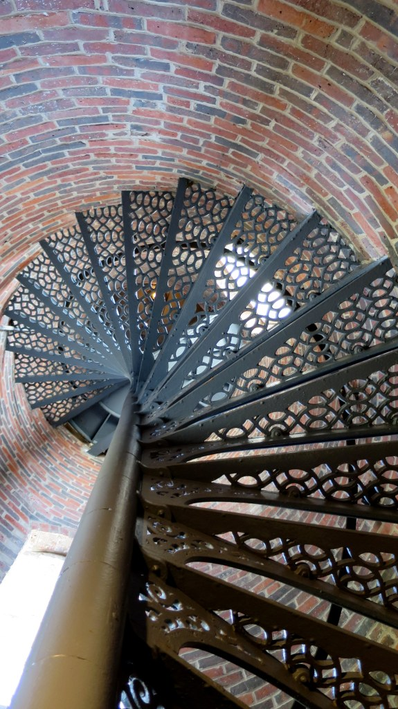 Tower stairs, Pemaquid Point Lighthouse, Maine