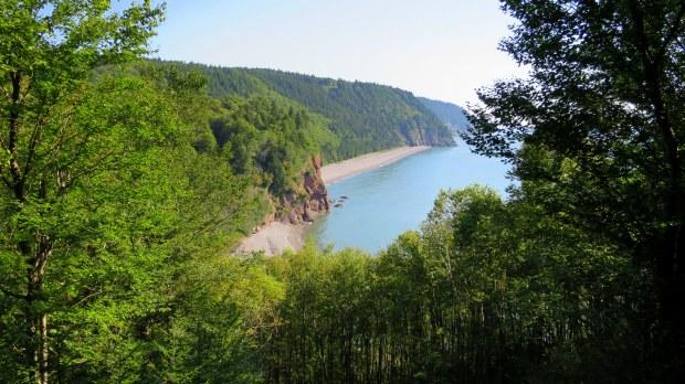 Pangburn Beach, Fundy Trail, New Brunswick, Canada