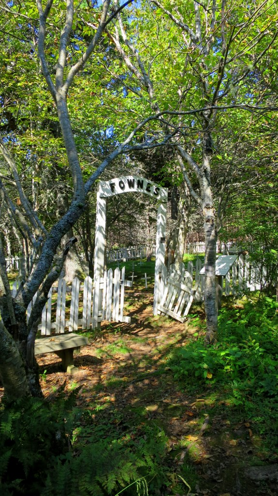 Fownes family plot, Fundy Trail, New Brunswick, Canada