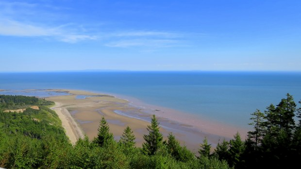 Hairpin Lookout, Fundy Trail, New Brunswick, Canada