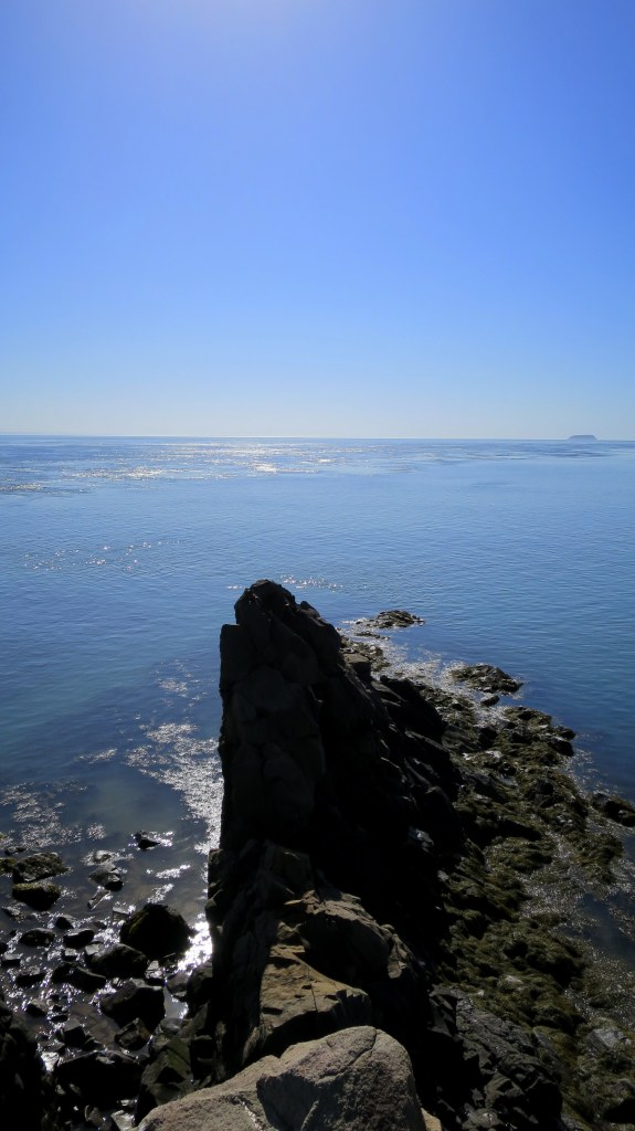 Looking out at the end of the peninsula, Cape D'Or, Nova Scotia, Canada