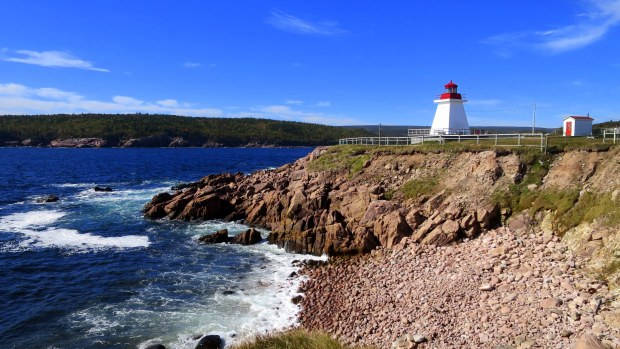 Neil's Harbour Lighthouse, Nova Scotia, Canada
