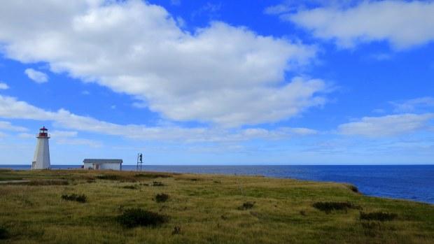Enragee Point Lightstation, Cheticamp Island, Nova Scotia, Canada