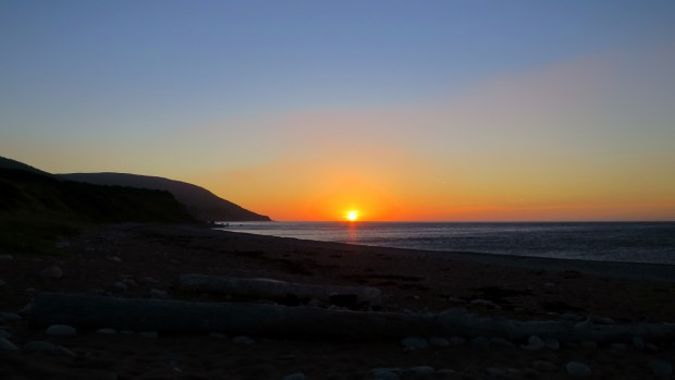Sunset at Pleasant Cove, Nova Scotia, Canada