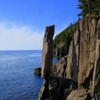 Balanced Rock, More Lighthouses, and Views of Long Island and Brier Island, Nova Scotia.  And Apple Cider Slushies.