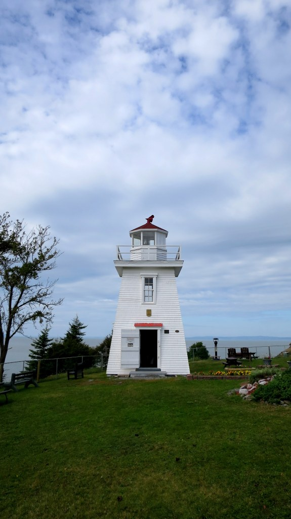 Walton Lighthouse, Walton Harbour, Nova Scotia, Canada