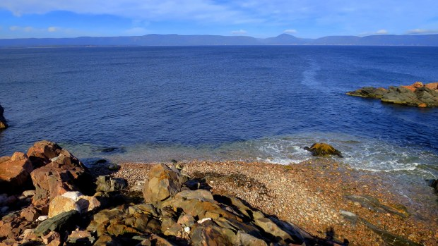 Looking out from White Point, Cape Breton Island, Nova Scotia, Canada