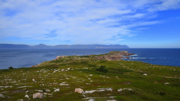 White Point from highest point, Cape Breton Island, Nova Scotia, Canada