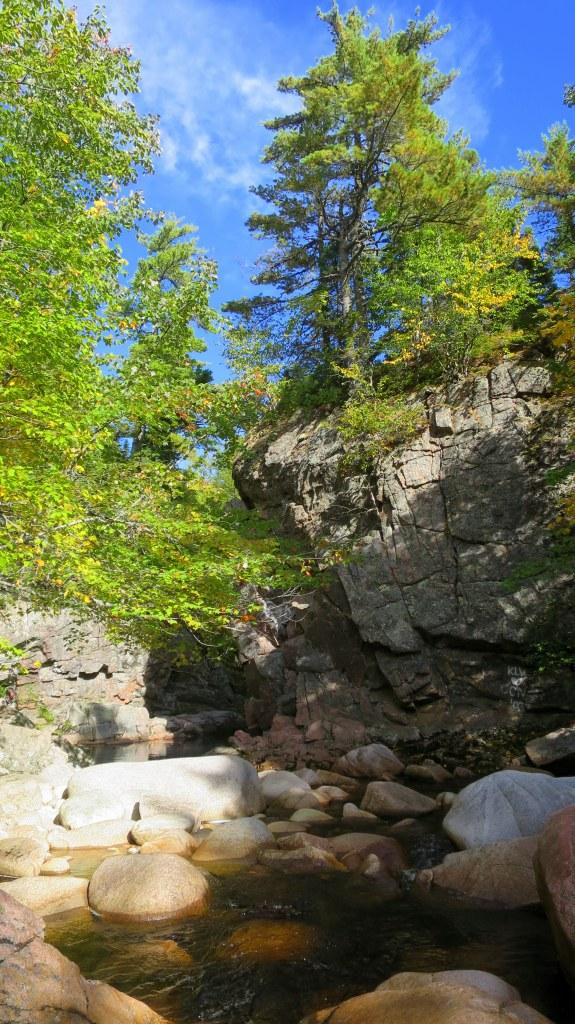 Black Brook below Mary Ann Falls, Cape Breton Highlands National Park, Nova Scotia, Canada
