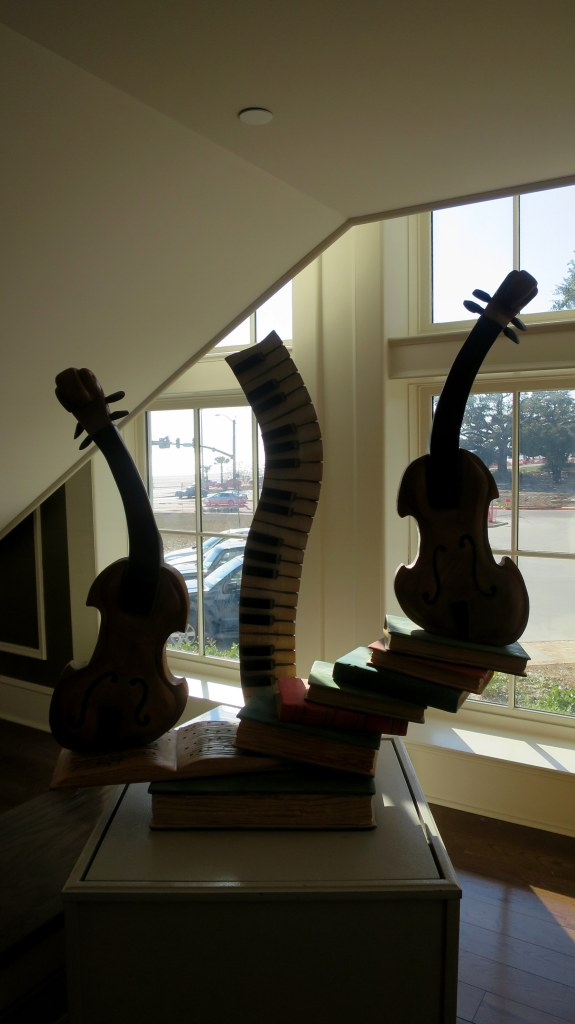 Wood sculpture, Visitor Center, Biloxi, Mississippi
