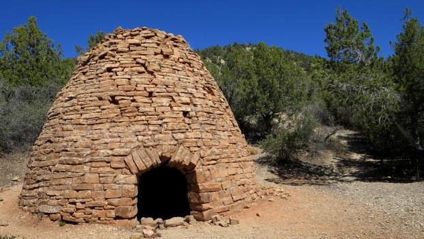 Charcoal kiln, Leeds Creek Kiln Trail, Dixie National Forest, Utah