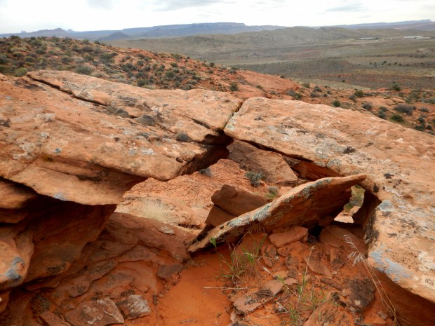 Little arch, Red Cliffs National Conservation Area, Utah