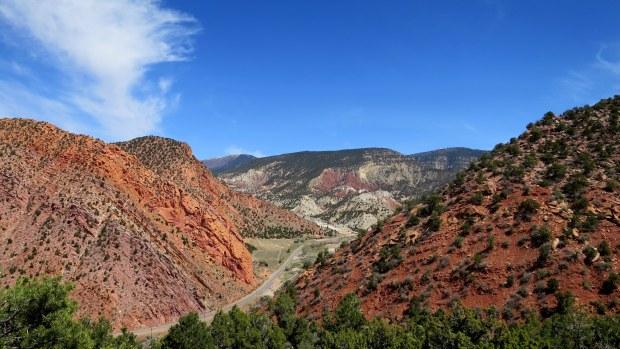 Overlooking Route 14, Cedar City, Utah