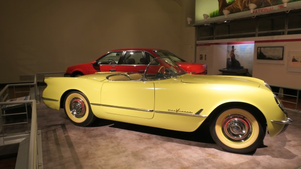 A 1955 Corvette Roadster, The Henry Ford, Dearborn, Michigan