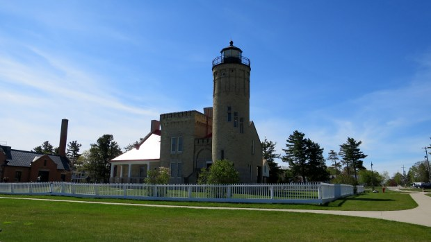 Old Mackinac Point Lighthouse, Michilimackinac State Park, Michigan