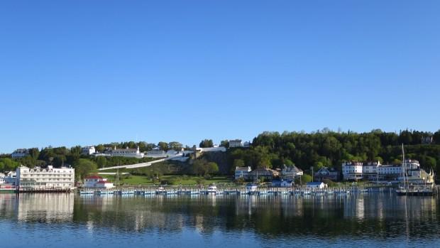 Harbor at Mackinac Island, Michigan