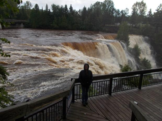 Me, Kakabeka Falls Provincial Park, Ontario, Canada