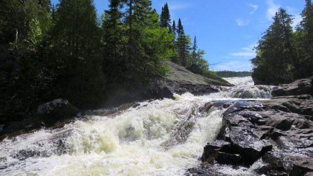 Rainbow Falls Trail, Rainbow Falls Provincial Park, Ontario, Canada