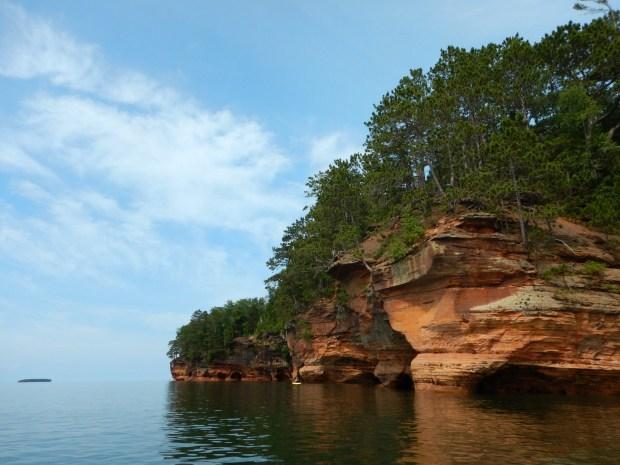 Finally - sun, Apostle Islands National Lakeshore, Wisconsin