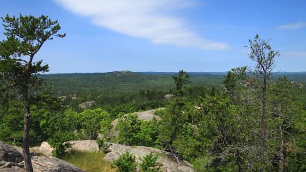 Sugarloaf Mountain, Marquette, Michigan