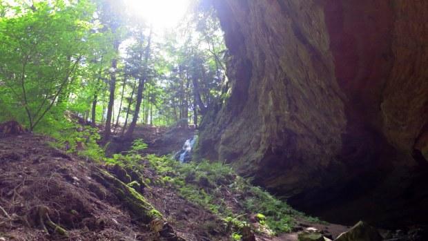 Approaching the falls, Memorial Falls, Munising, Michigan