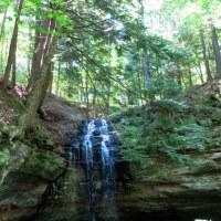 Swimming and Waterfall Hiking in Munising, Michigan
