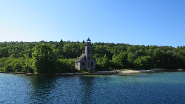 Grand Island East Channel Lighthouse, Pictured Rocks National Lakeshore, Michigan