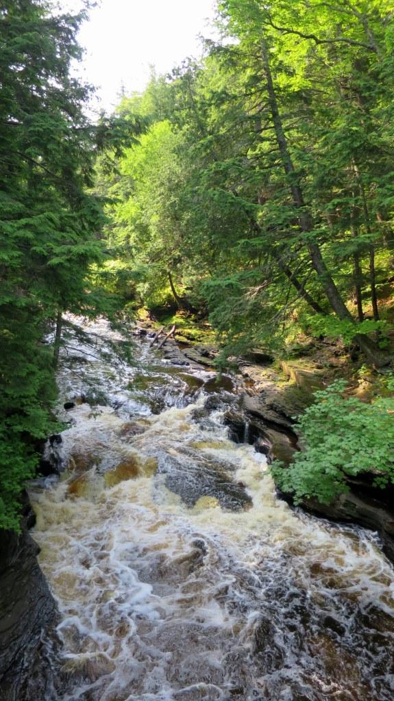 Presque Isle River, Porcupine Mountains Wilderness State Park, Michigan