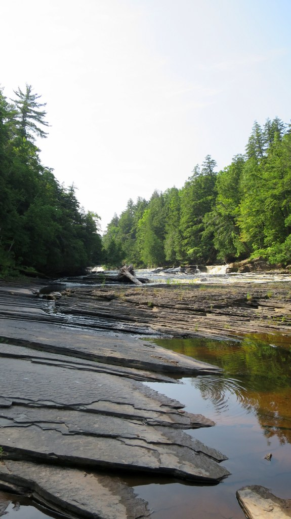 West River Trail, Porcupine Mountains Wilderness State Park, Michigan