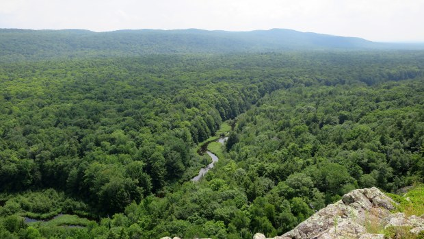 Lake of the Clouds Overlook, Porcupine Mountains Wilderness State Park, Michigan