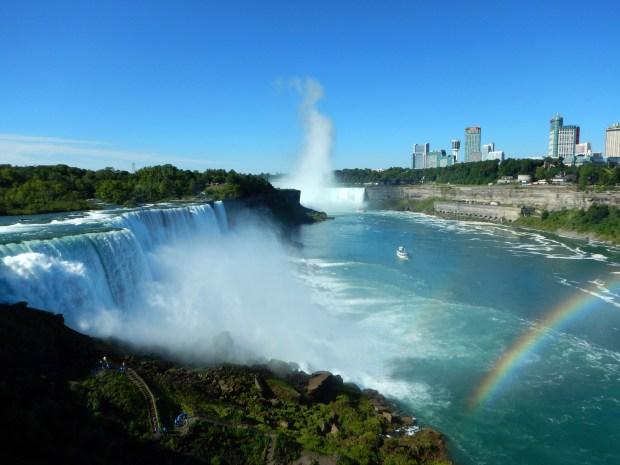 Niagara Falls from Niagara Falls State Park, New York