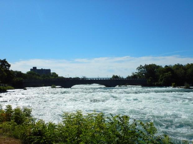 Rapids above American Falls, Niagara Falls State Park, New York