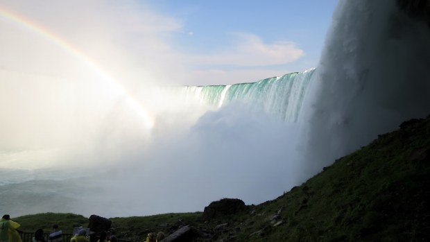 Below the falls, Niagara Falls, Ontario, Canada