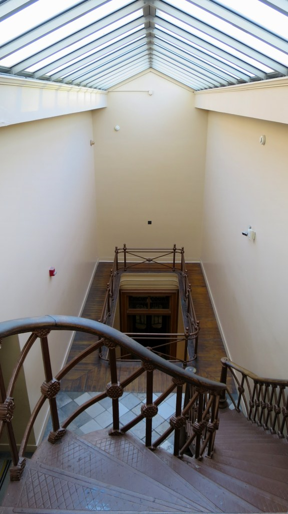 Interior staircase, The Old Courthouse, Jefferson National Expansion Memorial, St. Louis, Missouri