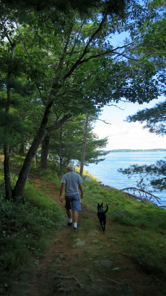 Tom and Abby, Eel Bay Trail, Wellesley Island State Park, New York
