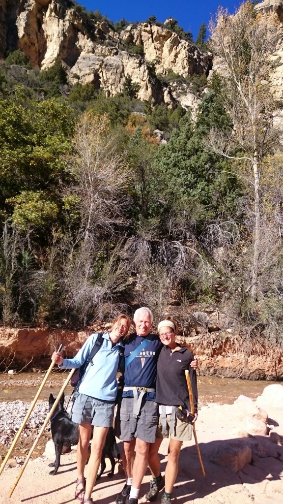 Nancy, Tom, and I, Ashdown Gorge Wilderness, Dixie National Forest, Utah