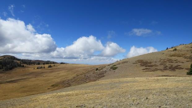 Return, Sidney Peaks Trail, Dixie National Forest, Utah