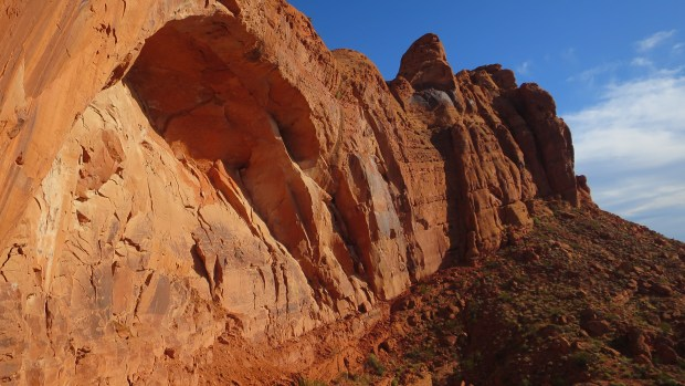 From the side, Red Cliffs National Conservation Area, Utah