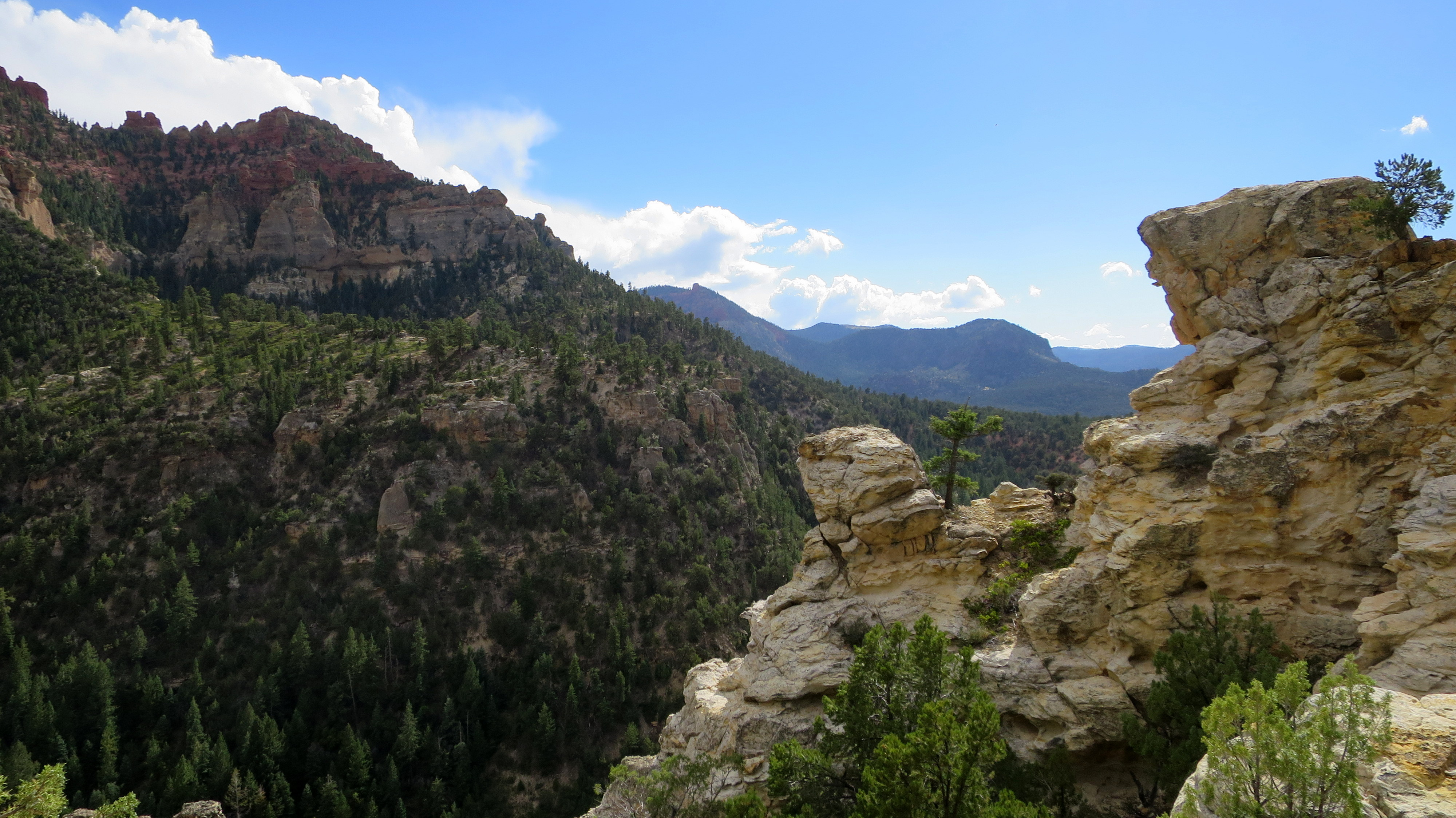 Brian Head Peak and the Vermillion Castle Trail | Another ...