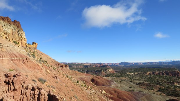 Overlook, Burr Trail, Grand Staircase-Escalante National Monument, Utah