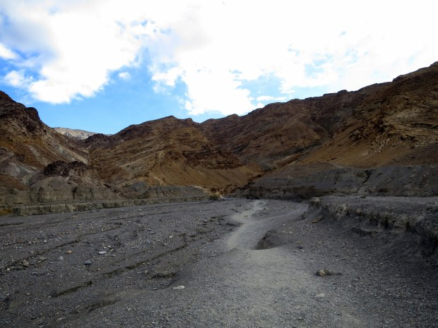Entrance to Mosaic Canyon, Death Valley National Park, California