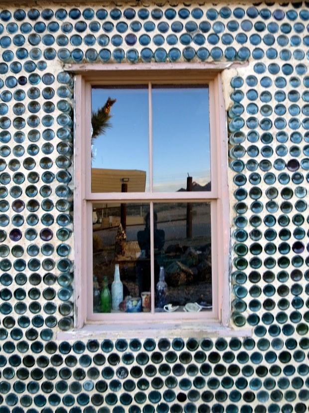 Window, Bottle House, Rhyolite, Nevada