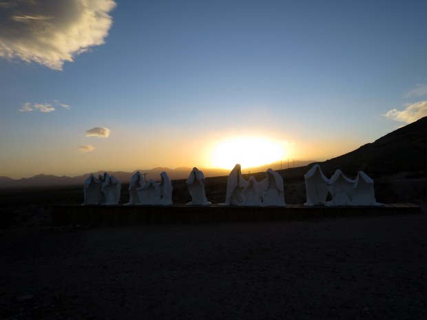 The Last Supper by Albert Szukalski, Goldwell Open Air Museum, near Rhyolite, Nevada