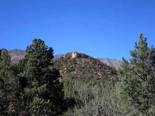 Handy Peak Loop, Spring Mountains National Recreation Area, Humboldt-Toynbee National Forest, Nevada