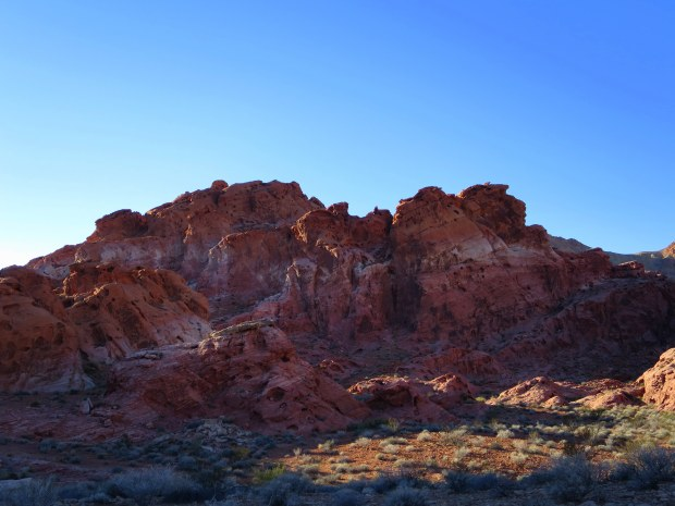 Near Bowl of Fire, Lake Mead National Recreation Area, Nevada