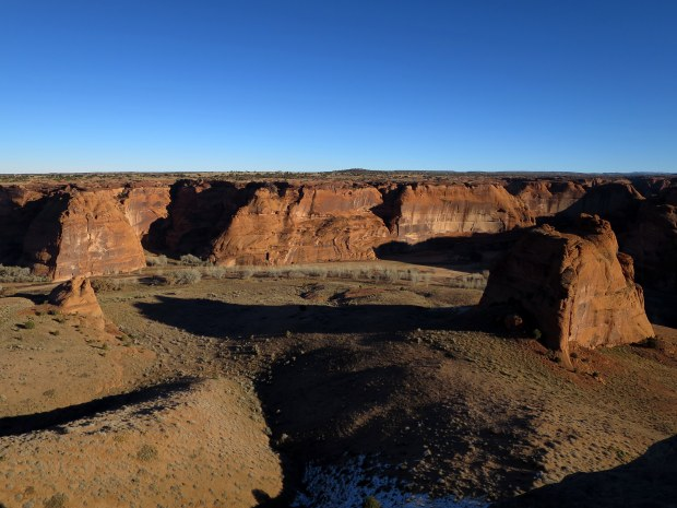 Junction Overlook, Canyon de Chelly National Monument, Arizona