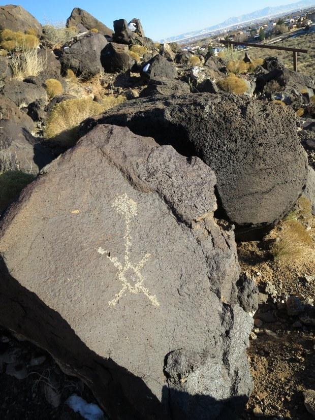 Mesa Point Trail, Boca Negra Canyon, Petroglyph National Monument, New Mexico