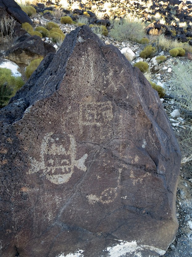 Cliff Base Trail, Boca Negra Canyon, Petroglyph National Monument, New Mexico