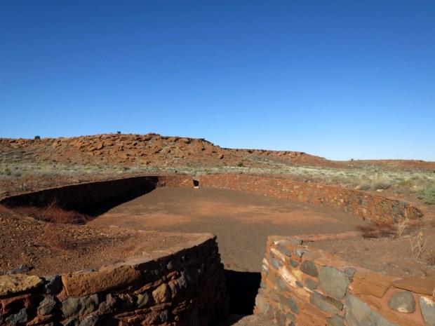 Ballcourt, Wupatki Pueblo, Wupatki National Monument, Arizona